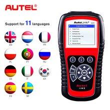 Autel AutoLink AL519 a amélioré les données graphiques doutil de lecteur de Code de Scanner automatique OBD2