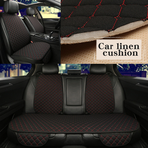 5 Seats Flax Car Seat Cover Pr