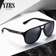 YZRS Brand Classic Polarized Sunglasses Men Retro Designer High Quality Sun Glasses Male Fashion Pilot Driving Eyewear