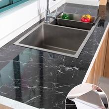 Stickers Waterproof Protect Desktop Marble Self-Adhesive Pattern One-Piece Modern Kitchen