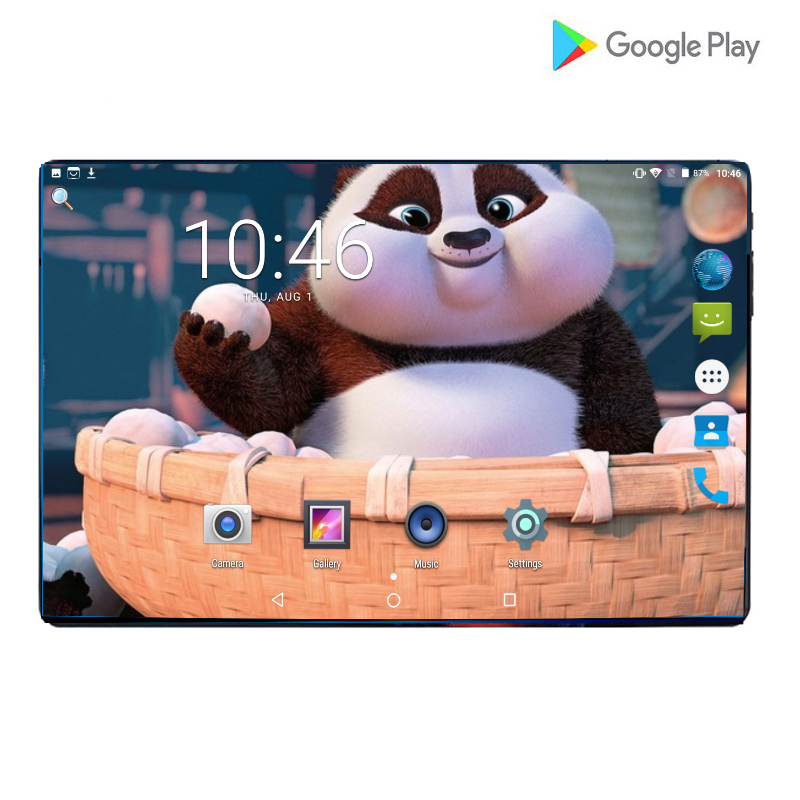 2019 New 10 Inch Android 9.0 Octa Core 4G Call Tablet Pc 6GB 64GB WiFi Laptop Dual SIM Card Phone Call Tab Pc Tablets 10.1