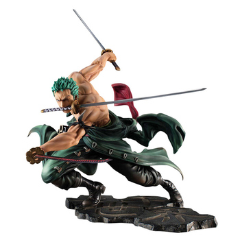 18cm Japanese Anime One Piece Roronoa Zoro SA-MAXIMUM Ver. PVC Action Figure toya roronoa zoro figure collectible model toy gift 18cm japanese game rage of bahamut mystere action figure collectible model toys for boys