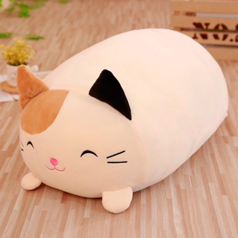 1Pc 30cm Doll Down Cat Pillow Plush Cushion Brinquedos With PP Cotton Stuffed Animal Plush Toys Dolls Kids Home Decoration