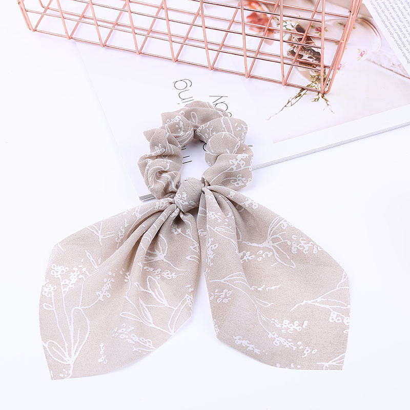 Новинка, шифоновые шелковые резинки для волос с бантом, женские жемчужные резинки для волос, резинки для волос, аксессуары для волос - Цвет: 8