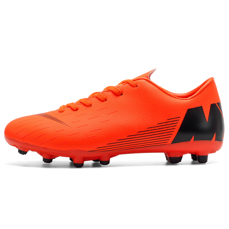 Hot Men Boys Soccer Shoes Indoor TF Football Cleats Trainers Sneakers Athletic