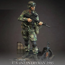 1/35 Assembly Resin Figure Kit U.S Soldier(not include base)(China)