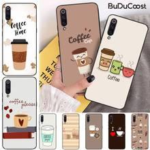 Jomy Simple ice coffee Phone Case Cover for xiaomi mi 8 9 8SE 9SE 8Lite mix2 2S max2 3 Pocophone F1 for xiaomi pocophone f1 case slim skin matte cover for xiaomi f1 pocophone f1 case xiomi hard frosted cover xiaomi poco f1 case