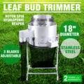 18-дюймовый садовый комбайн, автоматический триммер для листьев, 3 скорости, триммер для корней листьев, бутон (18 дюймов) с бесплатной доставк...