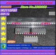 Aoweziic 2019 + 100% ใหม่นำเข้าเดิม IR2110PBF IR2110P IR2110 DIP 14 Bridge IC