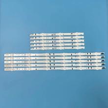 10pcs LED Strip D4GE 400DCA R2 LH40DBEPLGC HG40AC690 UE40J6240AK UE40J5600 สำหรับ Samsung 40 TV UE40H5270 UE40J6240AK UE40J5600