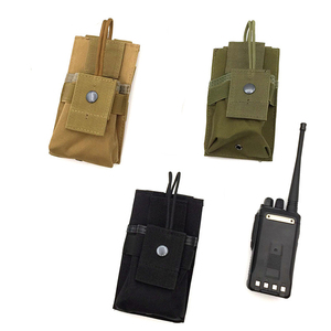 3 Colours Outdoor multi-function walkie-talkie Bag Tactical Vest Accessory Bag Magazine Pouch Army Accessories