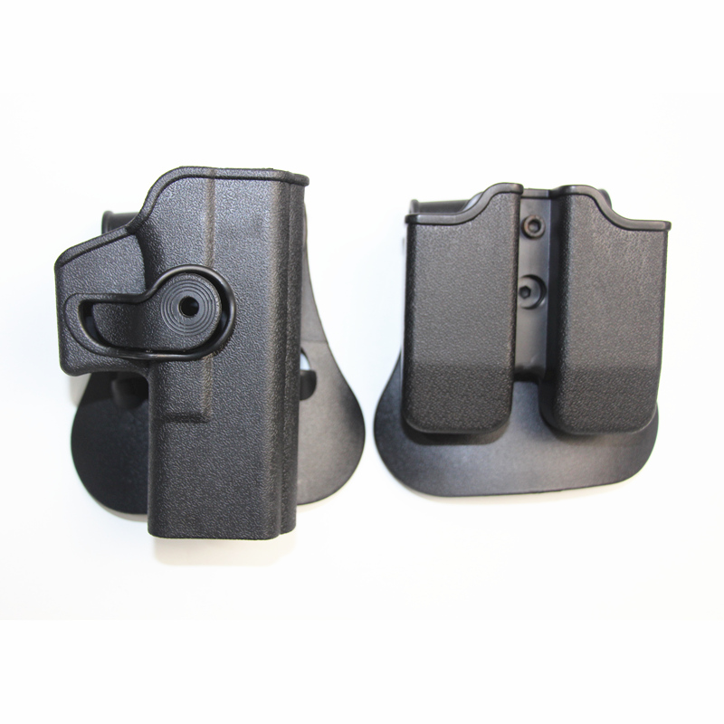 IMI Defense Glock 1911 M9 92 96 Right Hand Tactical Gun Accessories Pistol Holsters Airsoft With Magazine Pouch for Hunting image