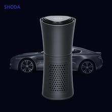 SHODA Cup Shape Car Air Purifier Negative Ions Air Cleaner Ionizer Remove PM2.5 Formaldehyde цена