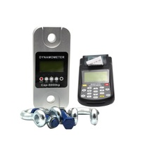 Electronic wireless dynamometer with LCD display scale high accuracy digital Industry weighing printer indicator crane sensor 30kg high accuracy electronic price computing weighing scales digital hanging hook crane scale