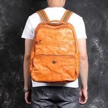 Повседневная простая сумка на плечо для мужчин вместительный