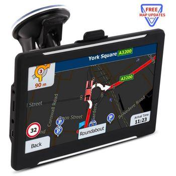High Quality T600 7 inch Car Truck GPS Navigation SAT NAV Navigator System 8GB Lifetime Free Map