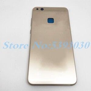 Image 3 - Wysokiej jakości pokrywa baterii P10 Lite dla Huawei P10 Lite pełna obudowa tylna szklana tylna obudowa + przednia rama LCD z bocznym kluczem