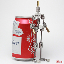 CINESPARK SMA 16 16CM DIY Not Ready Made Stainless Steel Animation Character Armature Figure for Stop Sotion Sideo
