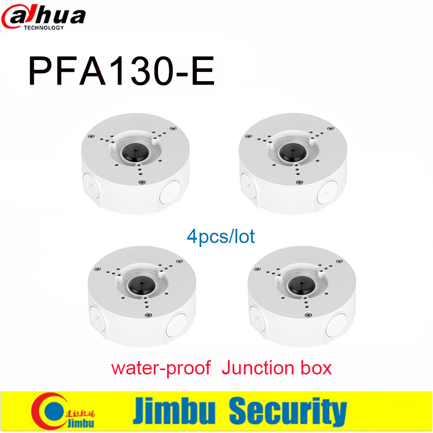 Dahua PFA130-E Water-proof Junction Box Neat & Integrated Design Aluminum IP66 Junction Box Camera Bracket