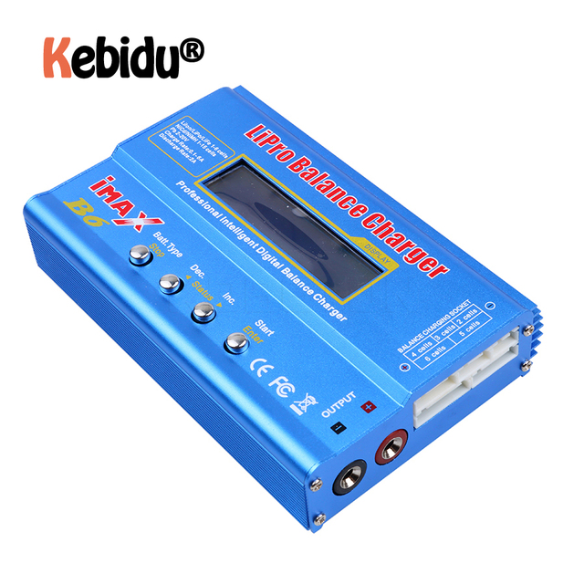 Latest IMAX B6AC RC B6 AC Nimh Nicd Lithium Battery Balance Lipo Battery Charger Balance Discharger With Digital LCD Screen