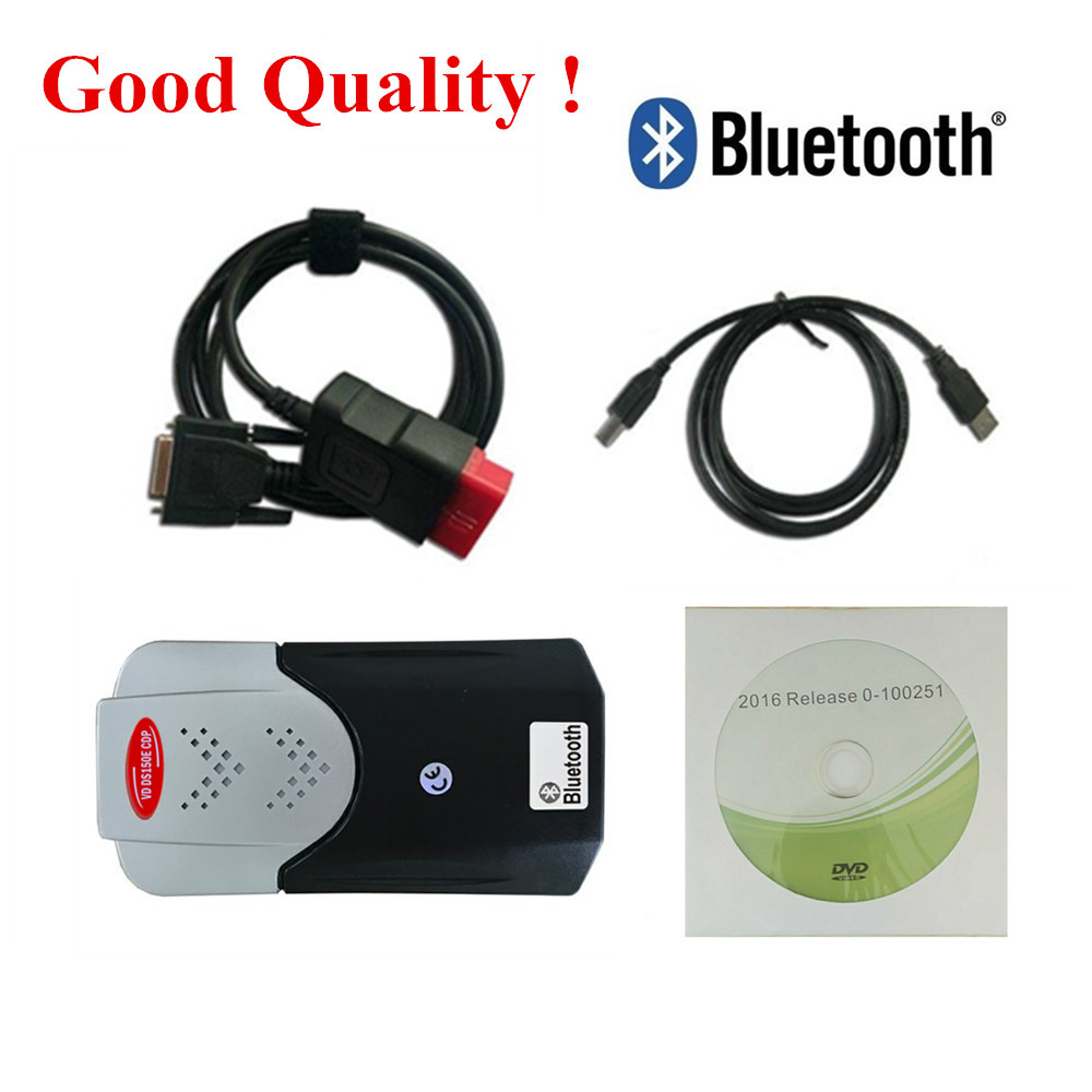 2019 2016.R0 Keygen For Delphis VD DS150E  Bluetooth VD TCS  PRO Plus OBD2 OBD Car Trucks OBDII Diagnostic Tool New VCI