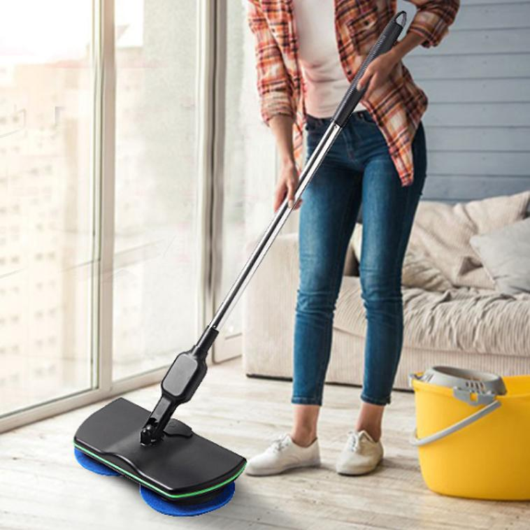 Electric Mopping Handheld Wireless Electric Wiper Rotary Mop Cleaning Floor Window Automatic Sweeping Rechargeable