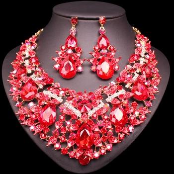 Luxury Leaves Jewelry Set 3