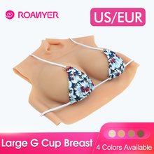 Roanyer pechos de silicona enormes formas de senos falsos para Trandsgender, Drag, Reina, Cosplay, hombre