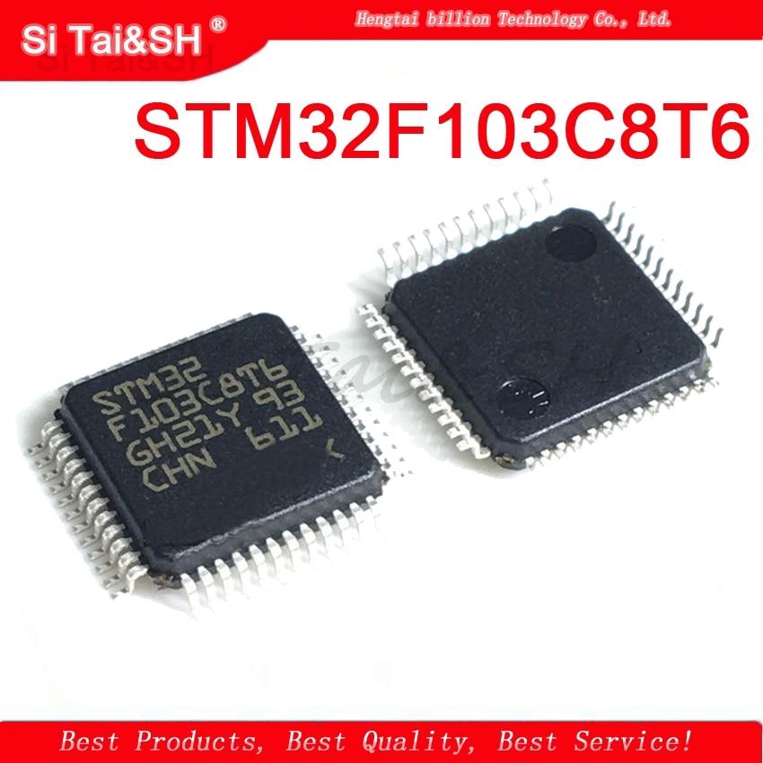 1 шт. STM32F103C8T6 STM32F103 STM32 F103C8T6 QFP IC