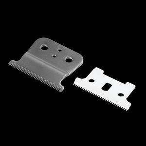 Image 3 - Yeni 2 saç kesme yedek bıçak seramik + Metal alt Andes saç kesme kesme makinesi aksesuarları