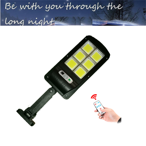 luz solar 120 led jardim lampada de parede pir sensor movimento 4 modos emergencia com