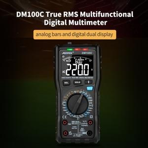 Image 2 - MESTEK DM100C 10000 Counts True RMS Digital Multimeter Measuring AC/DC Voltage Current Resistance Capacitance Frequency