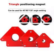 1 sztuk Multiangle spawanie narzędzie magnetyczne pozycjoner spawanie anioł pomocniczy zacisk mocujący neodymowy silny magnes pozycjoner spawalniczy