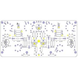 Image 3 - Lusya アンプ sch 6J4/6AU6 EL84/6P14 PCB ボードプッシュプル電力増幅器胆汁機 T1094