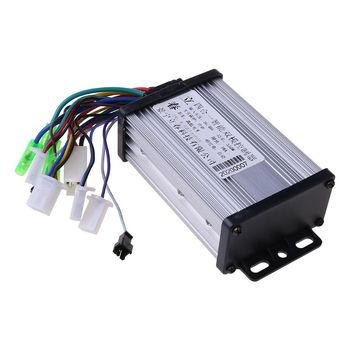 36V/48V 350W Electric Bicycle E-bike Scooter Brushless DC Motor Controller for Electric Bicycle Scooter Accessories Dropshipping 12v 24v 36v 48v 500 800w dc electric bike motor brushed controller box for electric bicycle scooter e bike accessory
