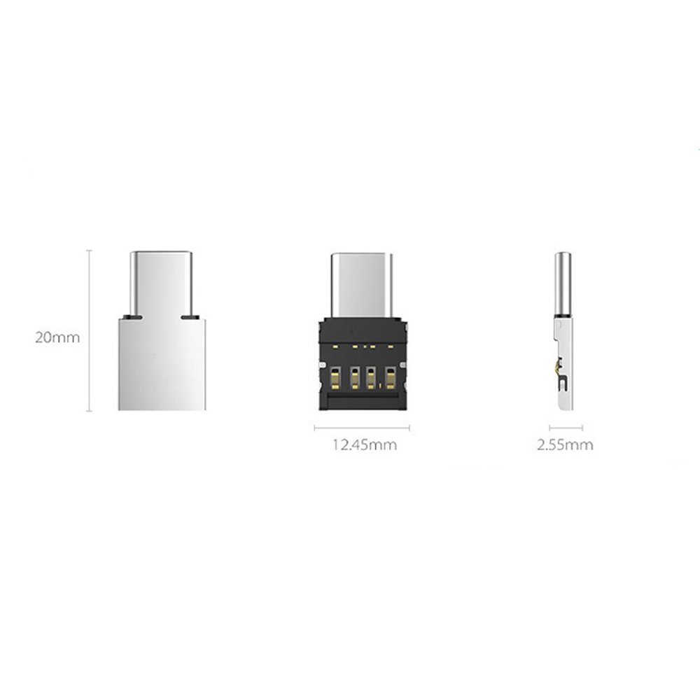 Type-c Adapter OTG Multi-function Converter USB Interface To Type-c Adapter Micro-transfer Interface For Macbook Pro Samsung USB