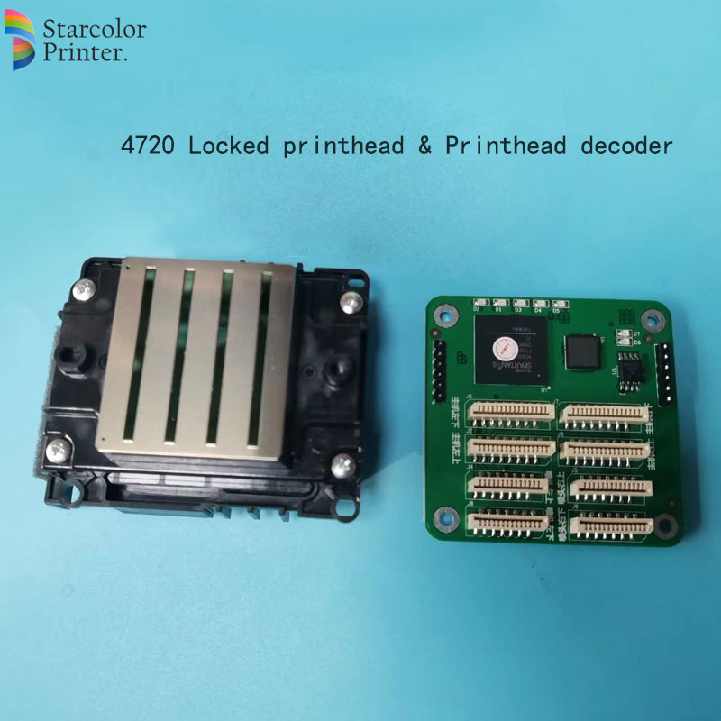 100% NEW And Original Printhead  For Epson 4720 5113 5210 Print Head For Epson 4720/ 5113/5210 Printer Oil Based Uv Printing