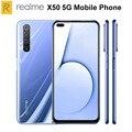 Новый список Realme X50 5G мобильный телефон 6 57