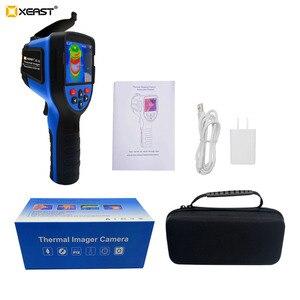 Image 5 - Szybka dostawa XEAST 3.5 Cal duży ekran podczerwieni ręczna kamera termowizyjna HD obraz XE 31 160*120 / XE 32 220*160