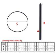 2021 новый 5 мм широкий поворотный стол резина ремень плоский привод ремень для винила пластинки проигрывателя проигрывателя