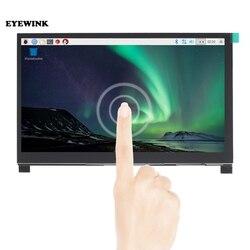 7 Polegada visão completa lcd ips tela de toque para raspberry pi hd hdmi monitor capacitivo controle de toque de 5 pontos