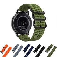 22mm Premium Nato Nylon Strap 3 Ring Watch Band For Garmin approach S60 /D2 Delta PX /Fenix 5 plus 5/ instinct band