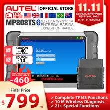 Autel MaxiPRO MP808TS Diagnose Werkzeug Automotive Scanner Bluetooth WIFI TPMS Werkzeug Programmierer sensor PK MK808 MK808TS AP200