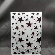 Гравировочные пластины с блестящими звездами дизайн «сделай