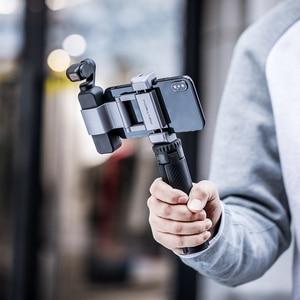 Image 3 - Pgytech T2三脚ハンドルアルミ合金dji osmoアクションポケット移動プロヒーロー9 8 7カメラ1/4ポートosmo携帯4 2 3一眼レフ