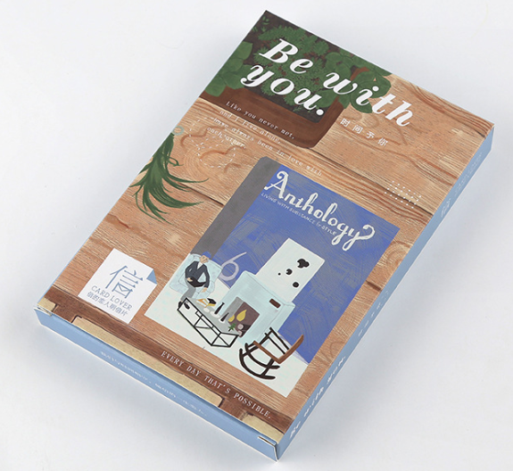 P134- Time You Paper Postcard(1pack=30pieces)