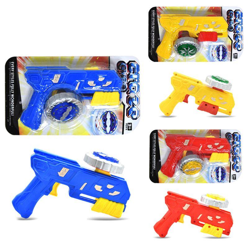 Гироскоп пистолет Peg-top спиннинг забавная игрушка Дети Классический гироскоп детские игровые Игрушки