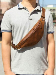MISFITS Waist-Packs Belt Phone-Pouch Travel Small Crazy Men for 120cm Length Male Genuine