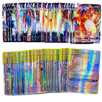 Pokemon Card English French Version Shining TAKARA TOMY 200GX 100TAG TEAM VMAX Cards Game Battle Carte Trading Children Toy