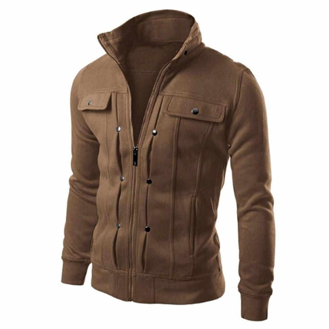 TOP Fashion Mens Jacket Mens Slim Ontworpen Revers Vest Jasje Sweater Tops Bovenkleding Plus Size Volledige Kraag Jas # Q